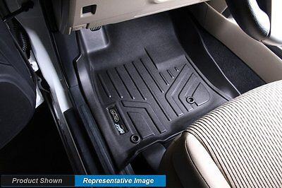 Black Floor Liners MAXFLOORMAT for Toyota Corolla 2009–2013 First Row Mats A0012