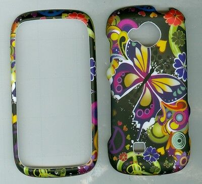 Target Butterfly RUBBERIZED PROTECTOR CASE FOR Samsung Reality SCH- U820 VERIZON
