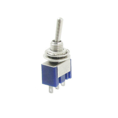 5 Pcs AC 125V 6A Amps ON/ON 2 Position 3 Terminals SPDT Toggle Switch
