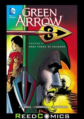 GREEN ARROW VOLUME 2 HERE THERE BE DRAGONS GRAPHIC NOVEL Paperback (1988) #7-12