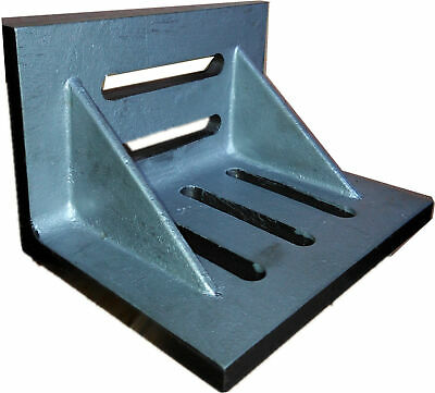 "7 X 5-1/2 X 4-1/2"" Slotted Angle Plate (Webbed) (3402-0305)"