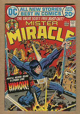 Mister Miracle - #9 - Origin Issue!! - 1972 (Grade 6.5/7.0) WH