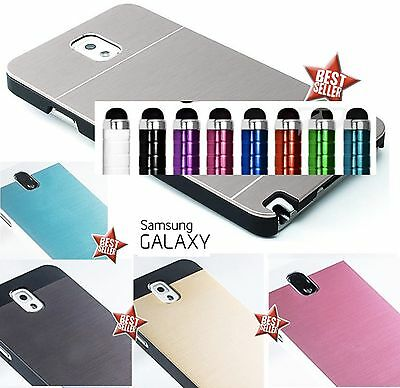 CUSTODIA COVER CASE SLIM IN ALLUMINIO per SAMSUNG GALAXY NOTE 4 N910 + PELLICOLA