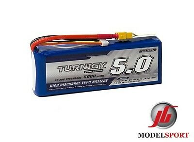 Turnigy 5000mAh 3S 11.1V  Lipo Battery 3 cell for Rc Car Plane Helicopter