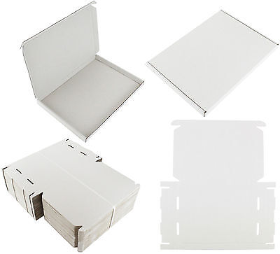 White C4 A4 Size Box Large Letter Strong Cardboard Shipping Mailing Postal Pip