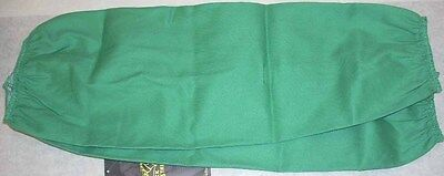 Black Stallion Fire Resistant Sleeves Welding Green Clothing OSFA