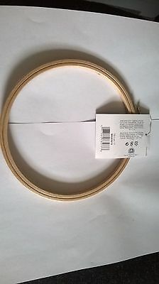 "GENUINE DMC BEECHWOOD EMBROIDERY HOOP 18.5cm 7"" -  FREE UK POSTAGE AND PACKING"
