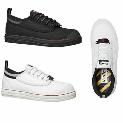 Dunlop Volley Steel Cap Caps Mens White Black Grey Toe Safety Volleys Work Shoes