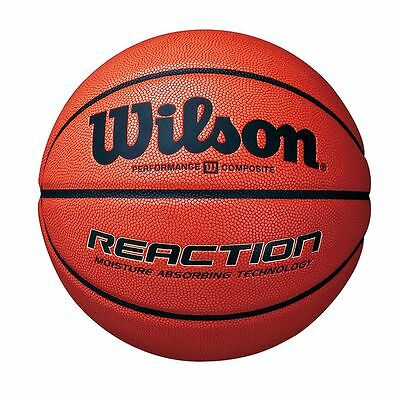 NEW Wilson Reaction Competition Basketball - Soft Composite Basket Ball Size 6,7