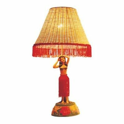 "Hawaiian Hawaii Motion Vintage Hula Lamp ~ Hula Girl w/ Hands Back 26"" #50006"