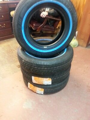 TWO 185/75R14, 185-75R14 Travel Star White Wall Automobile Passenger Tires