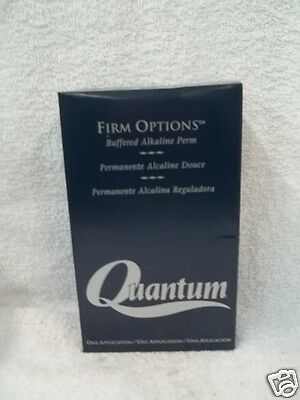 Quantum FIRM OPTIONS Buffered Alkaline Perm Kit by Zotos ~ 1 Full Application!!!