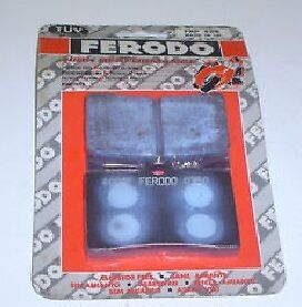 Ferodo Front Brake Pad Frp408-Cp Ceramic Grip Compound Race Track Day Motorcycle