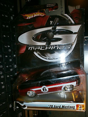 1970 FORD MUSTANG 3 OF 11 G MACHINES 2006 1/50 SCALE HOT WHEELS  1B
