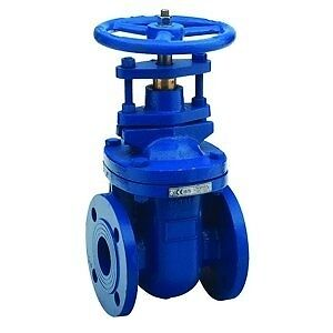 "B15-00124 - Cast Iron Gate Valve BS 5150 - PN16 - Size 2.1/2"" x Weight ("