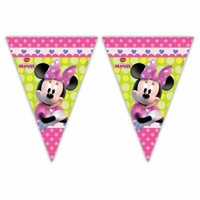 2m Disney Minnie Mouse Balloons Clubhouse Party Pennant Banner Bunting