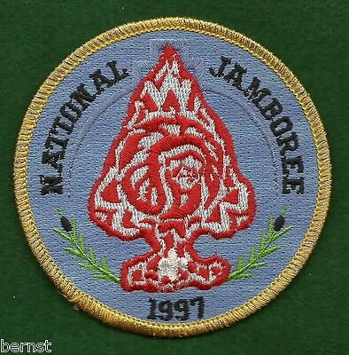 Boy Scout 1997 Jamboree Order Of The Arrow Patch - Free Shipping        Xx
