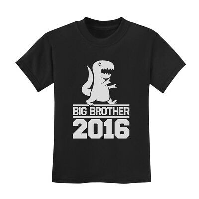 Big Brother 2016 Toddler T-Shirt New Baby Announcement Siblings Cute Shower Gift