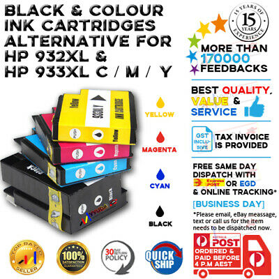8x Ink Cartridge 932XL 933XL For HP Officejet 6100 6600 6700 H611a H711n Printer