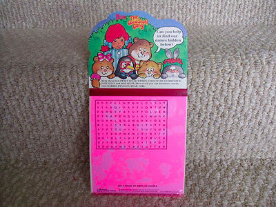 1988 Wendy's The Good Stuff Gang Hidden Names Game. Unused; hard to find. RARE