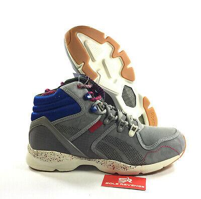 d8dd72ee9a78fd NEW 8 Reebok x Burn Rubber Men Night Storm HLS gray red royal blue creme  J95188