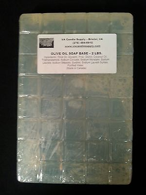 2 Lbs Olive Oil Melt And Pour Soap Base  Soap Making Supplies