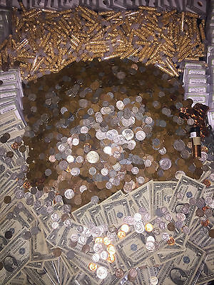 $ Old Us Coins Silver Bullion Lot Estate Sale Gold Money Collection Cents Hoard!