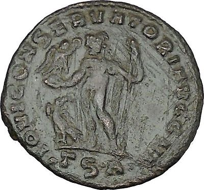Licinius I Constantine The Great enemy 313AD Ancient Roman Coin Jupiter i47881