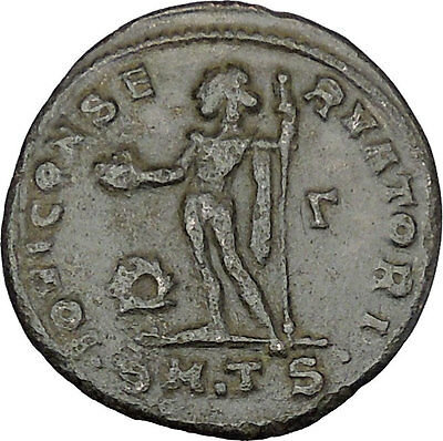Licinius I Constantine The Great enemy 312AD Ancient Roman Coin Jupiter i47886