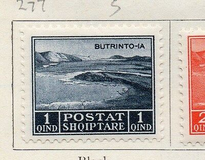 Albania 1930 Early Issue Fine Mint Hinged 1q.  121741