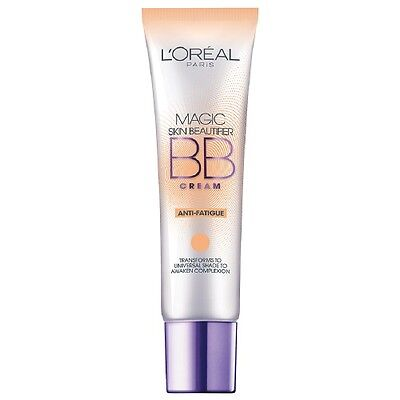 L'oreal Magic Skin Beautifier Bb Cream Anti-Fatigue Brand New & Sealed