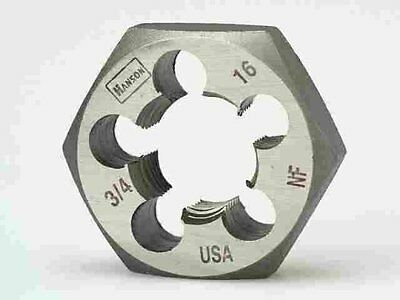"""3/4-16 NF 1-7/16"""" Hex Die by Hanson, a Division of Irwin 6860ZR"""