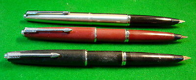 3 Parker 45 c1967 - All perfect just need a clean - NO RESERVE