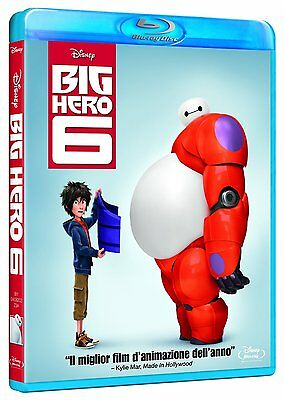 Big Hero 6 (Blu-Ray) Animazione Digitale Walt Disney Vincitore Oscar 2015