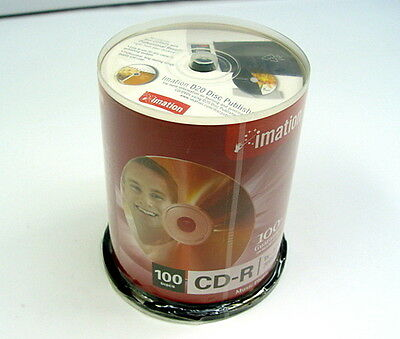 Imation CD-R 100 Pack 1x-52x 700mb