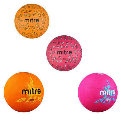 NEW Mitre Oasis Netball- Cheap for Practice Training Net Ball Netballs Size 4 5