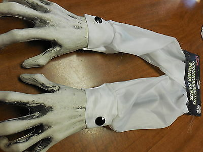 2 Zombie Arms Yard Lawn Stakes Pair Halloween