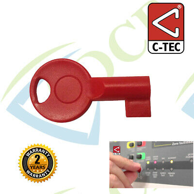 TC376 - C-TEC CFP FIRE ALARM PANEL Access KEY Spare S-KEY Enable REPLACEMENT New