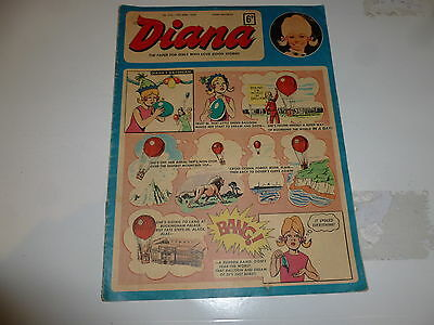 DIANA Comic - No 322 - Date 19/04/1969 - UK PAPER COMIC