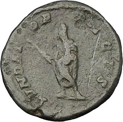 SEPTIMIUS SEVERUS Veiled with branch 202AD Rome mint Ancient Roman Coin  i47921