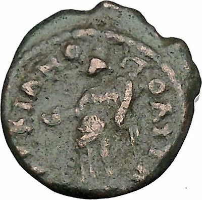 SEPTIMIUS SEVERUS Marcianopolis Moesia Ancient Roman Coin Fortuna Tyche  i47928