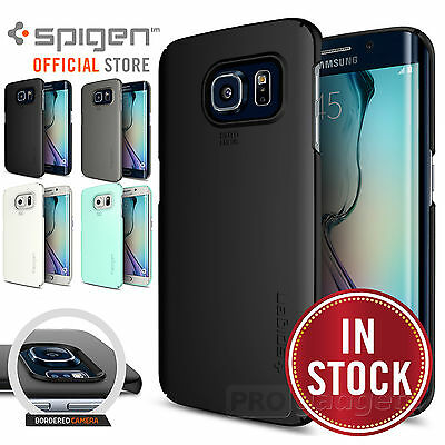 Galaxy S6 / S6 Edge / PLUS Case, Genuine SPIGEN Ultra THIN FIT Cover for Samsung