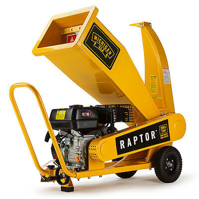 NEW MICHIGAN RAPTOR 1000 Wood Chipper - Compact - Shredder Chip Mulcher Mulch
