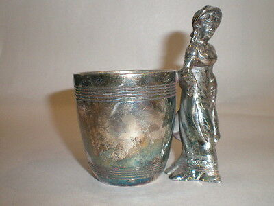 Victorian Mary Gregary Figural Toothpick Holder