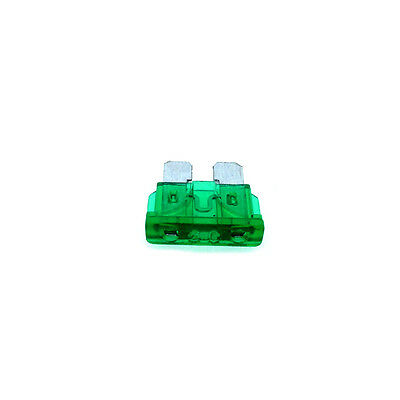 30A Standard Car Auto Blade Fuse 30 Amp Green ATO - Pack of 10