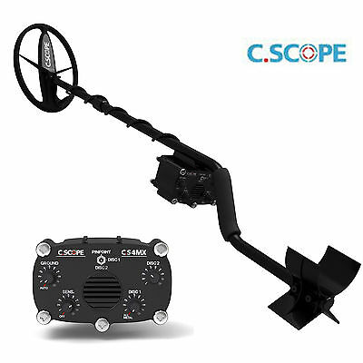 C Scope CS4MXi, Motion,+ Coil Cover & Headphones. Deep & Sharp!