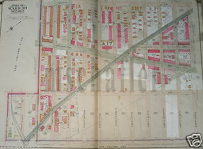 1905 Borough Park Brooklyn New York 9Th Av - 12Th Av & 37Th - 49Th St Atlas Map
