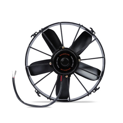 "Mishimoto Race High Flow 10"" Slim Line Electric 12v Fan - Black"