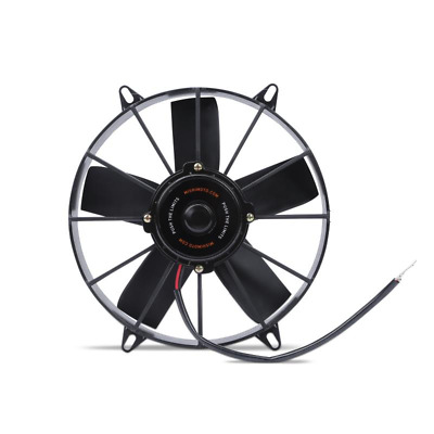 "Mishimoto Race High Flow 12"" Slim Line Electric 12v Fan - Black"