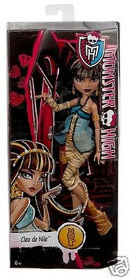Monster High Original Favorites CLEO DE NILE Doll Ghouls Collection NEW
